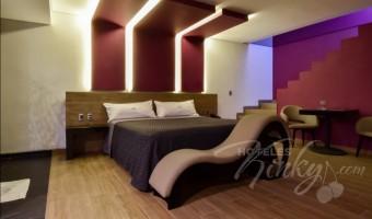Love Hotel Punto G Elements , Habitacion Sky Dome Tubo y Columpio