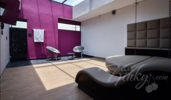 Love Hotel Punto G Elements , Habitacion Sky Dome Tubo