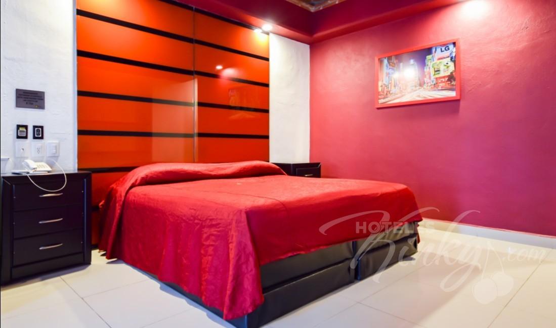 Love Hotel Quinta Tlalpan Hotel & Suites, Habitacion King Size