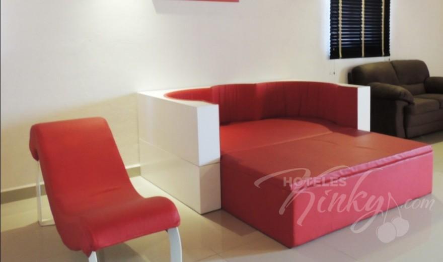 Love Hotel Quinta Tlalpan Hotel & Suites, Habitacion Master