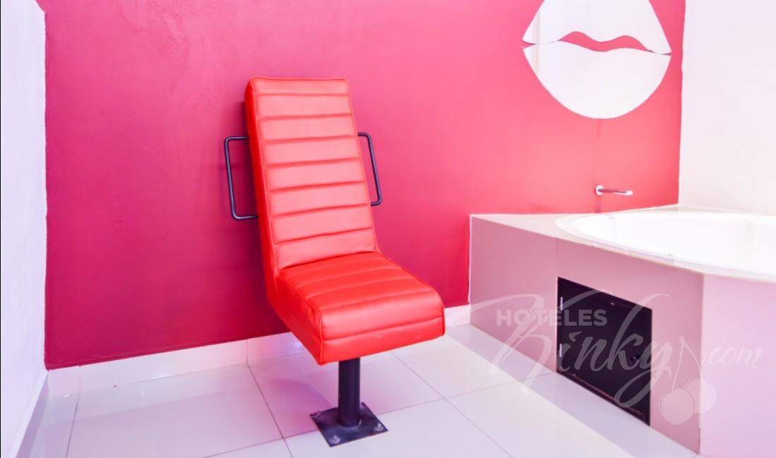 Love Hotel Quinta Tlalpan Hotel & Suites, Habitacion Villa Jacuzzi