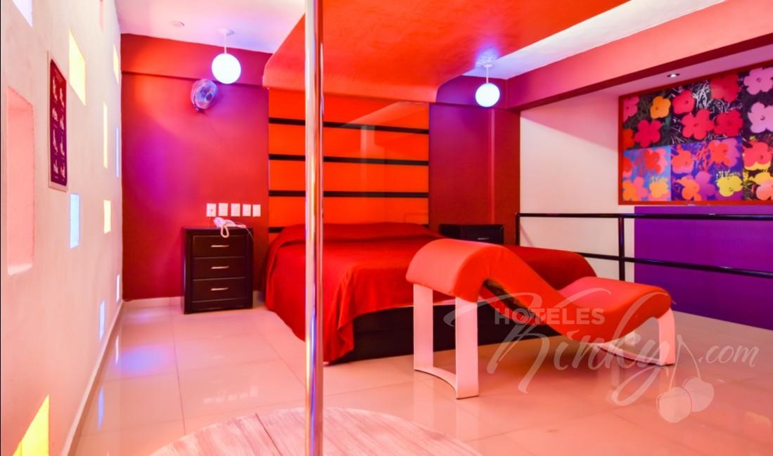 Habitaciòn Villa Sencilla del Love Hotel Quinta Tlalpan Hotel & Suites