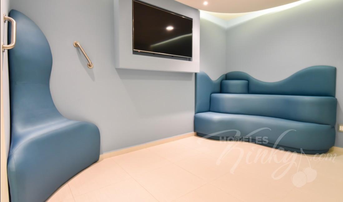 Habitaciòn Jr Suite Jacuzzi  del Love Hotel Quinto Elemento