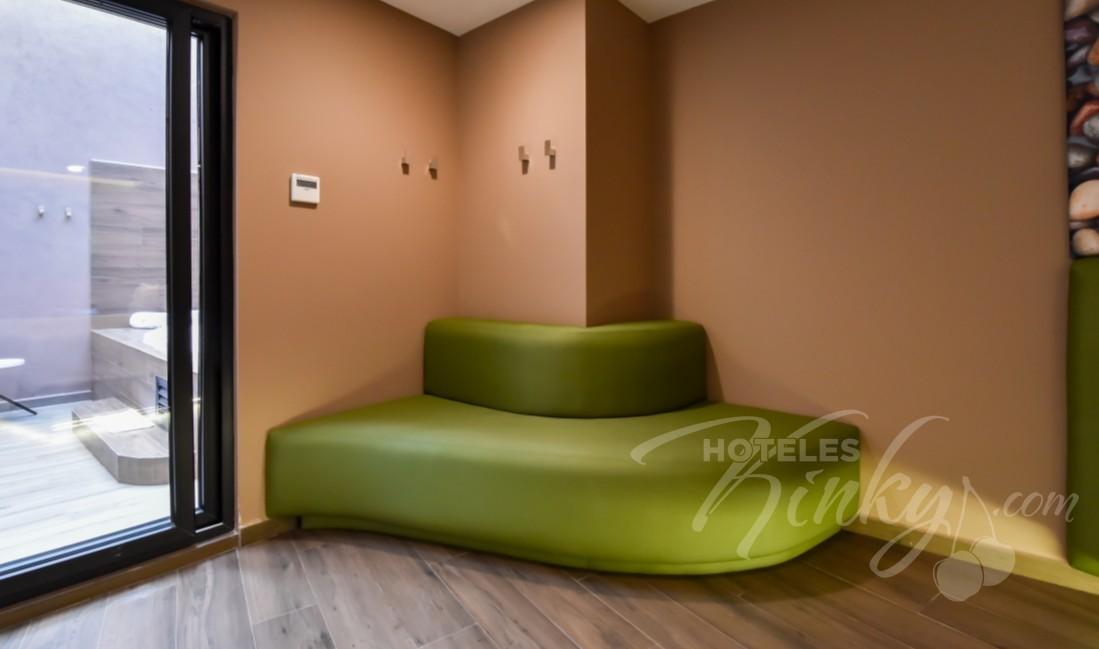 Habitaciòn Suite Terraza  del Love Hotel Quinto Elemento