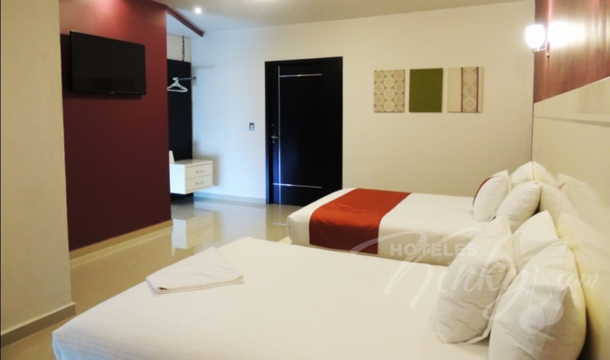 Love Hotel Red Mandala Hotel & Suites, Habitacion Hotel Doble
