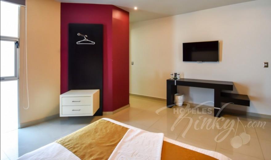 Love Hotel Red Mandala Hotel & Suites, Habitacion Hotel Sencilla