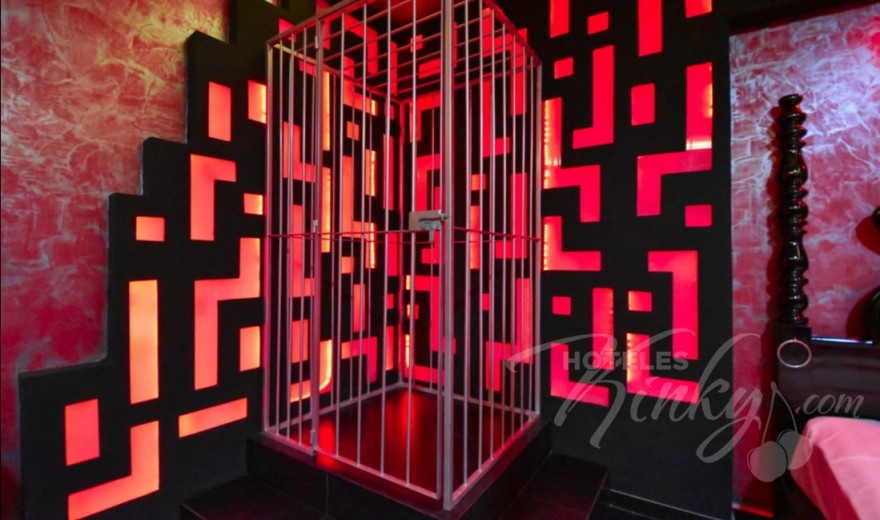 Love Hotel Red Mandala Hotel & Suites, Habitacion Red Room