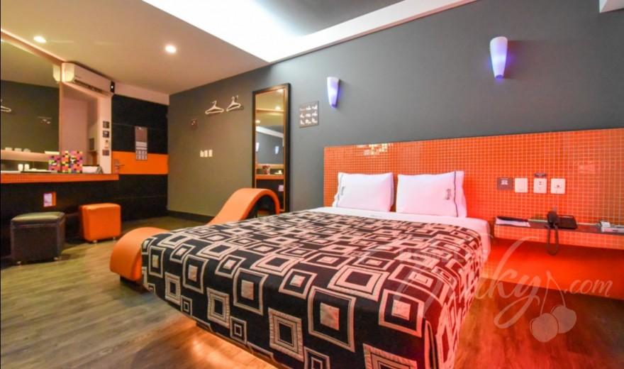 Love Hotel Santa Fe Hotel & Villas, Habitacion Torre Jacuzzi