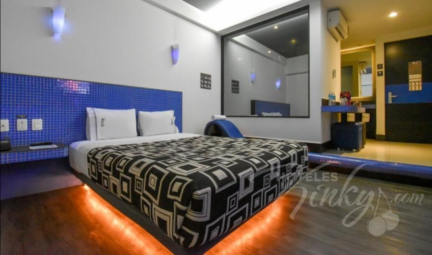 Love Hotel Santa Fe Hotel & Villas, Habitacion Torre Sencilla