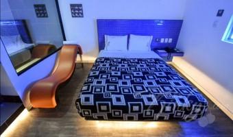 Love Hotel Santa Fe Hotel & Villas, Habitacion Villa Jacuzzi