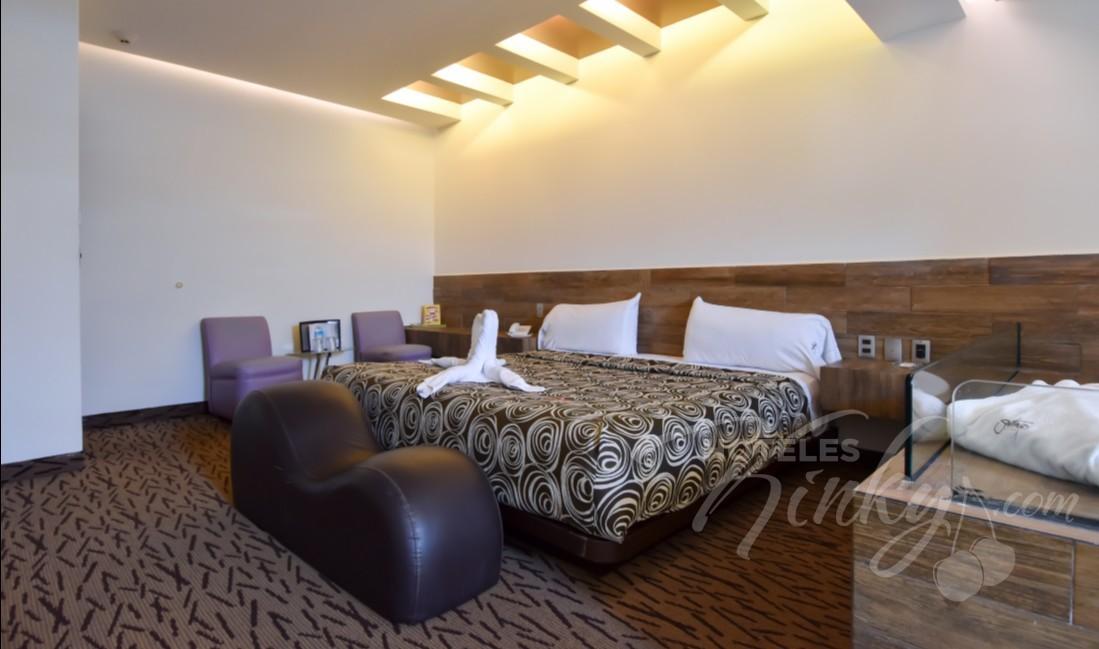 Love Hotel Santiago, Habitación Jacuzzi
