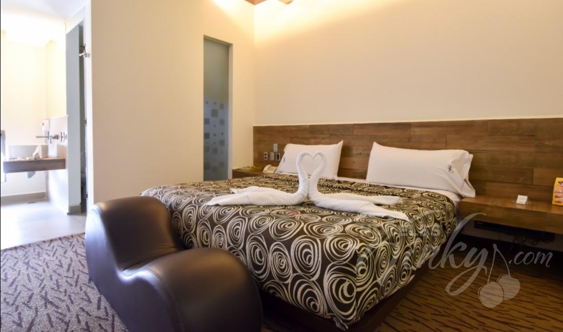 Habitaciòn Sencilla  del Love Hotel Santiago