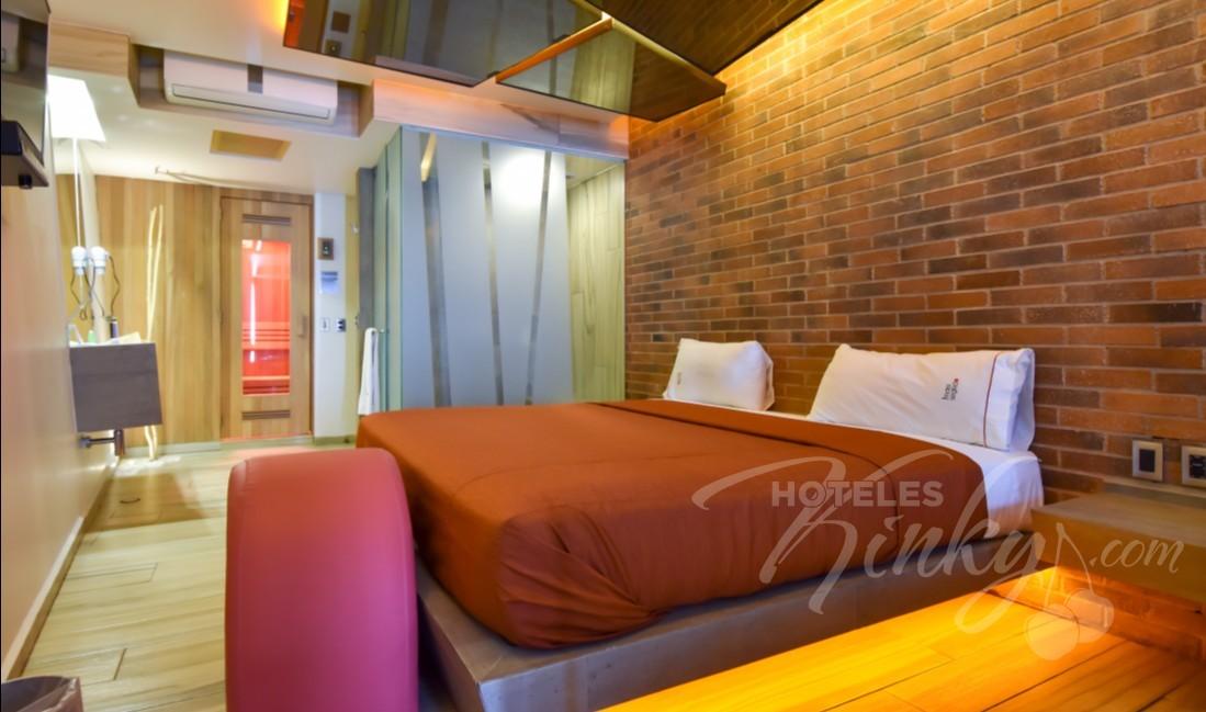 Habitaciòn Hotel Jacuzzi  del Love Hotel Segredo