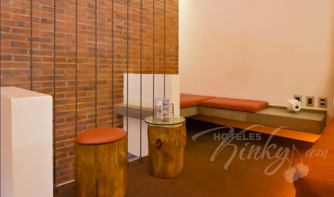 Habitaciòn Motel Sencilla  del Love Hotel Segredo