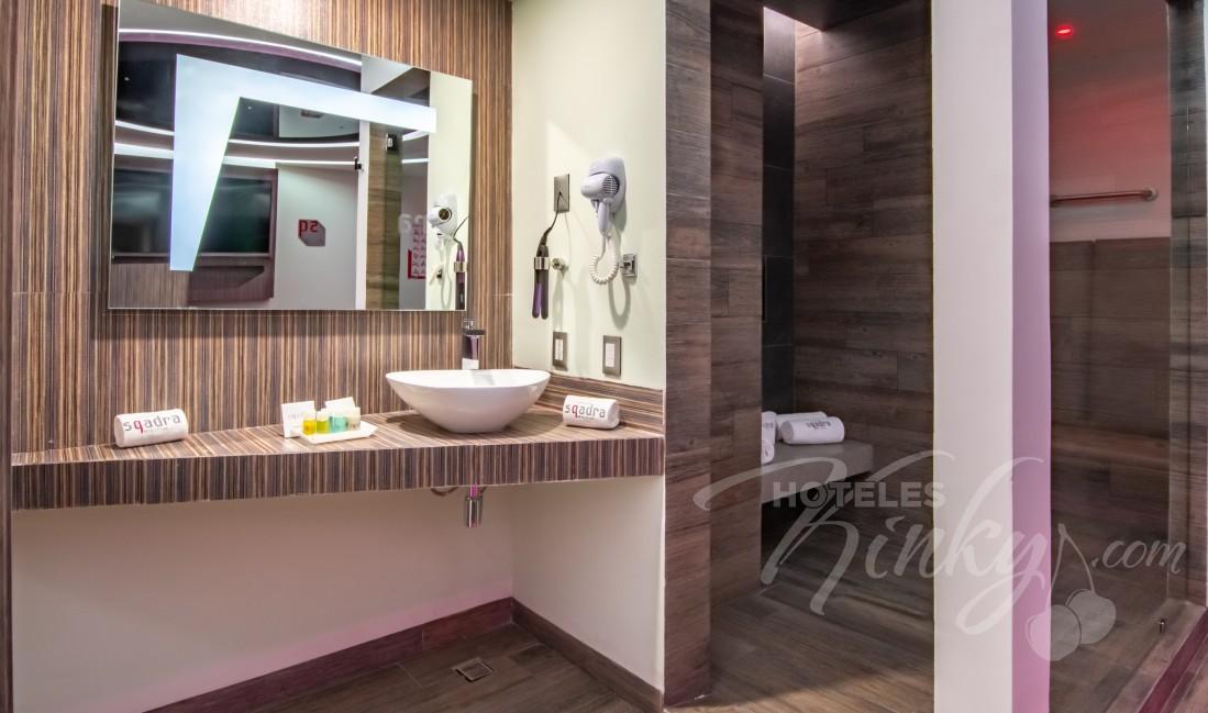 Habitaciòn Experiencia  del Love Hotel Sqadra Hotel y Villas