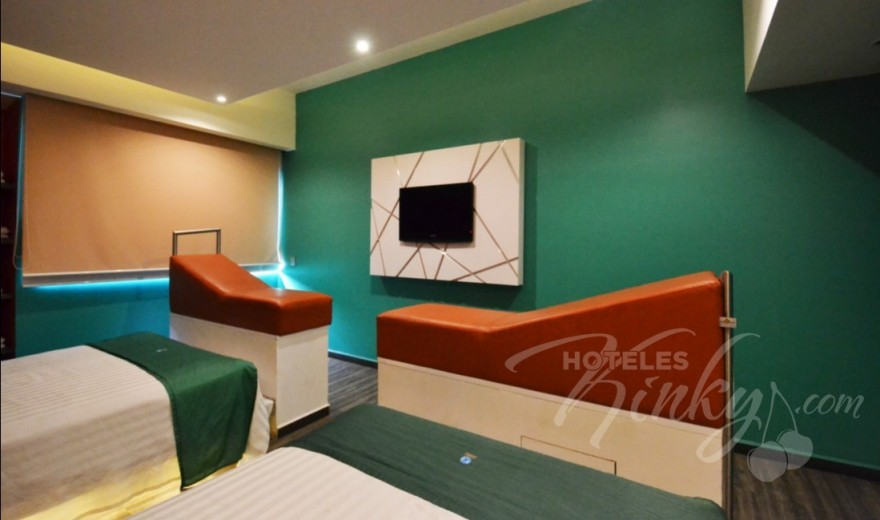 Love Hotel Tacubaya & Autosuites, Habitacion Doble