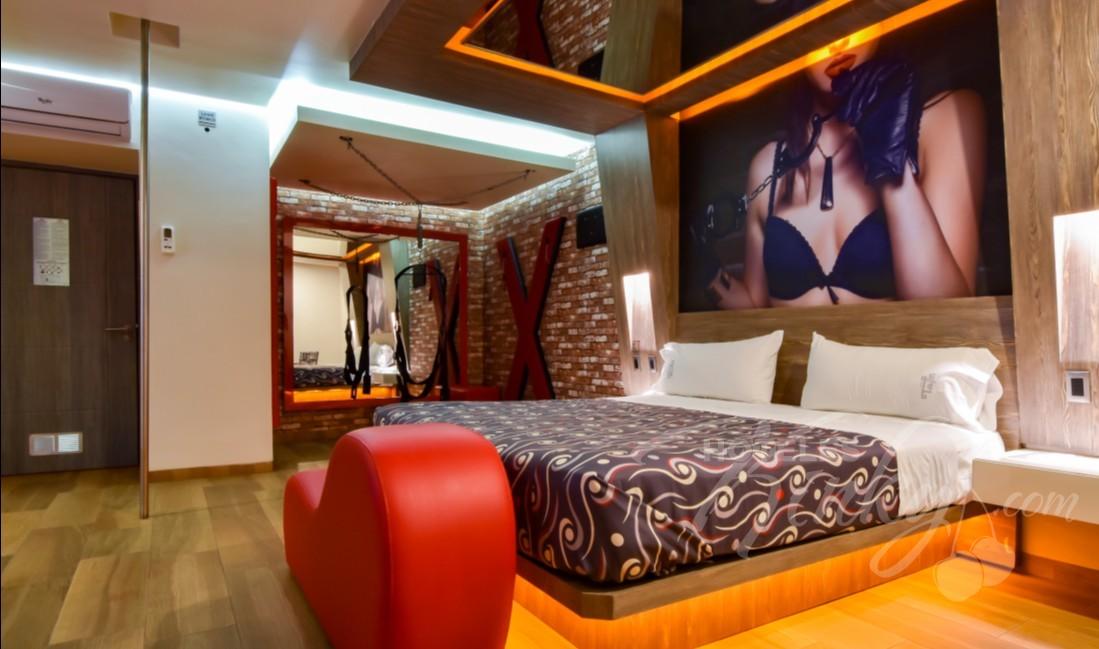 Habitaciòn Jacuzzi Fetish  del Love Hotel Tajín
