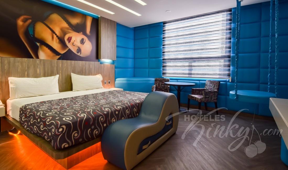 Love Hotel Tajín , Habitacion Suite temática