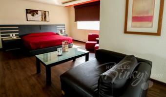 Love Hotel Tláhuac Hotel & Suites, Habitación Suite Jacuzzi