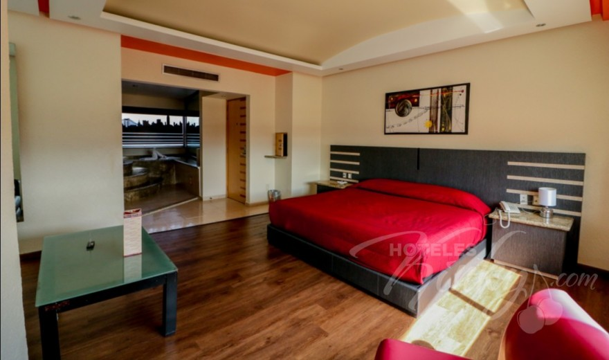 Love Hotel Tláhuac Hotel & Suites, Habitacion Suite Jacuzzi