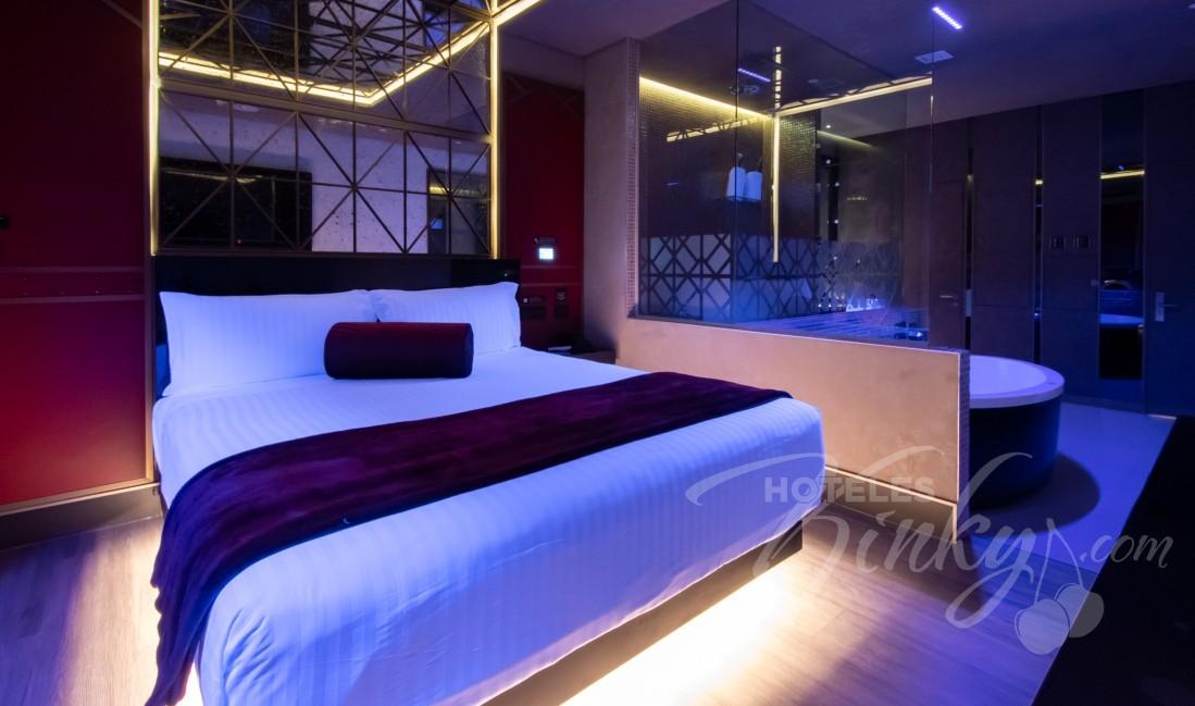 Habitaciòn Junior Villa  del Love Hotel V Motel Boutique Periférico Norte