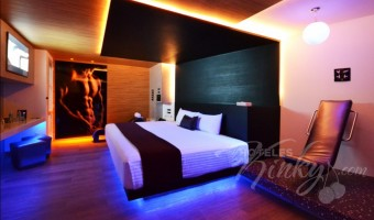 Love Hotel V Motel Boutique Sur, Habitacion Twin Handicap Suite