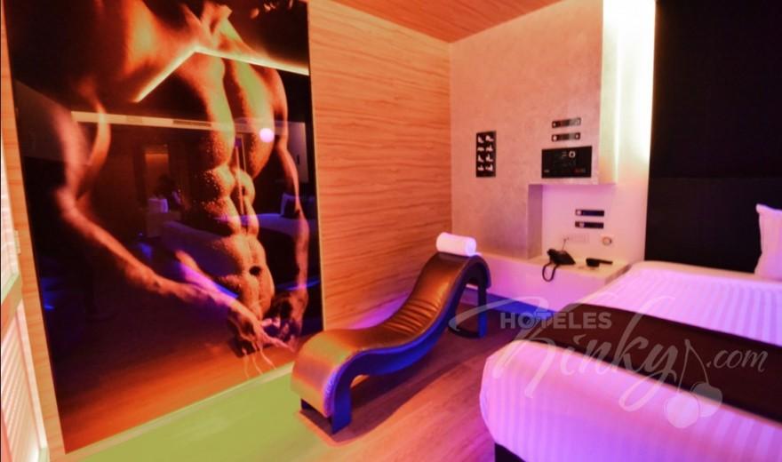 Love Hotel V Motel Boutique Sur, Habitacion Twin Suite -  Twin Handicap Suite
