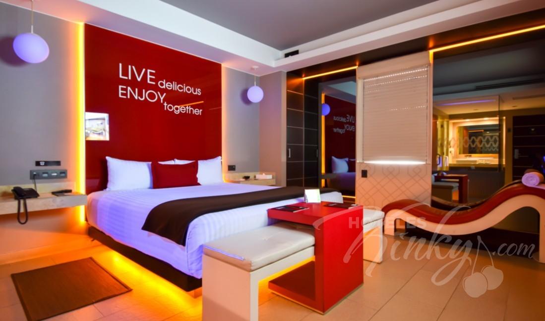 Love Hotel V Motel Boutique Viaducto, Habitacion Junior Villa
