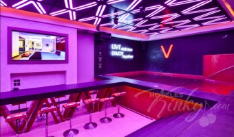 Love Hotel V Motel Boutique Viaducto, Habitacion Pool Party Room