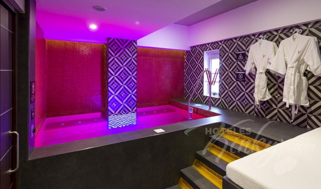 Love Hotel V Motel Boutique Viaducto, Habitacion Pool & Spa Suite