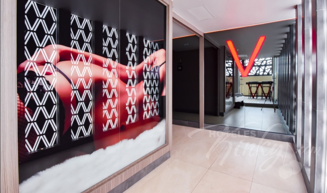 Love Hotel V Motel Boutique Viaducto, Habitacion Sky Suite