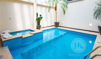 Love Hotel Villa del Parque, Habitacion Suite Alberca