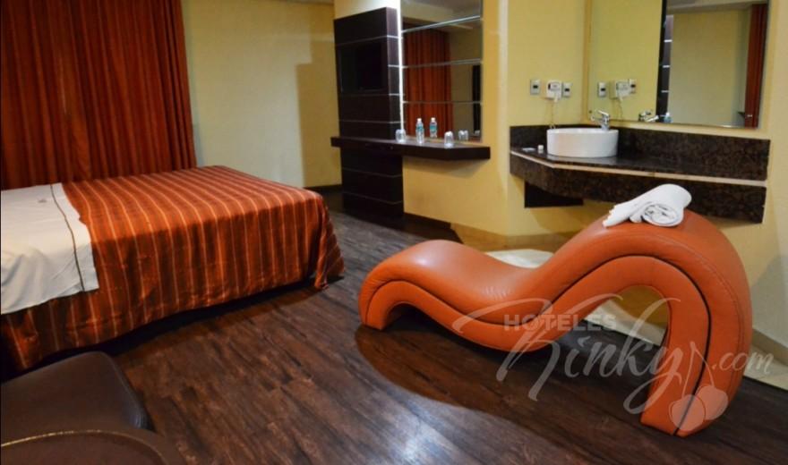 Love Hotel Villas Ajusco, Habitacion Hotel Jacuzzi