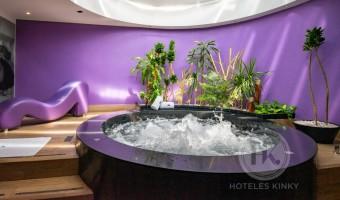 Love Hotel Villa del Parque Elite , Habitacion Suite Jacuzzi