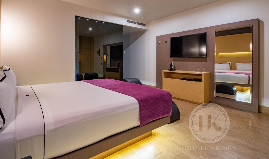 Love Hotel Villa del Parque Elite , Habitacion Suite Junior