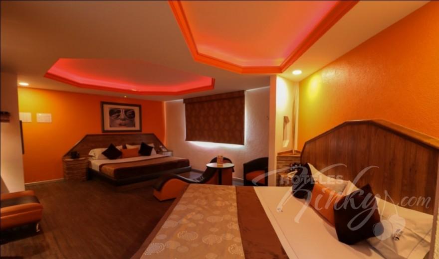 Love Hotel Villas del Sur, Habitacion Hotel Doble