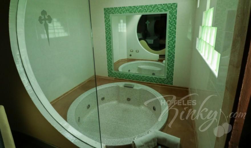 Love Hotel Villas del Sur, Habitación Hotel Jacuzzi