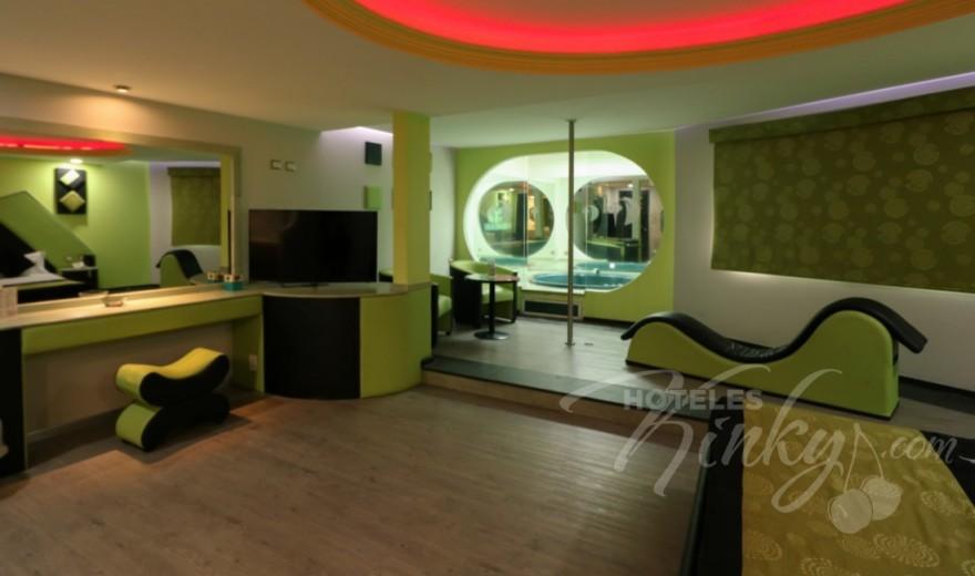 Love Hotel Villas del Sur, Habitacion Jacuzzi