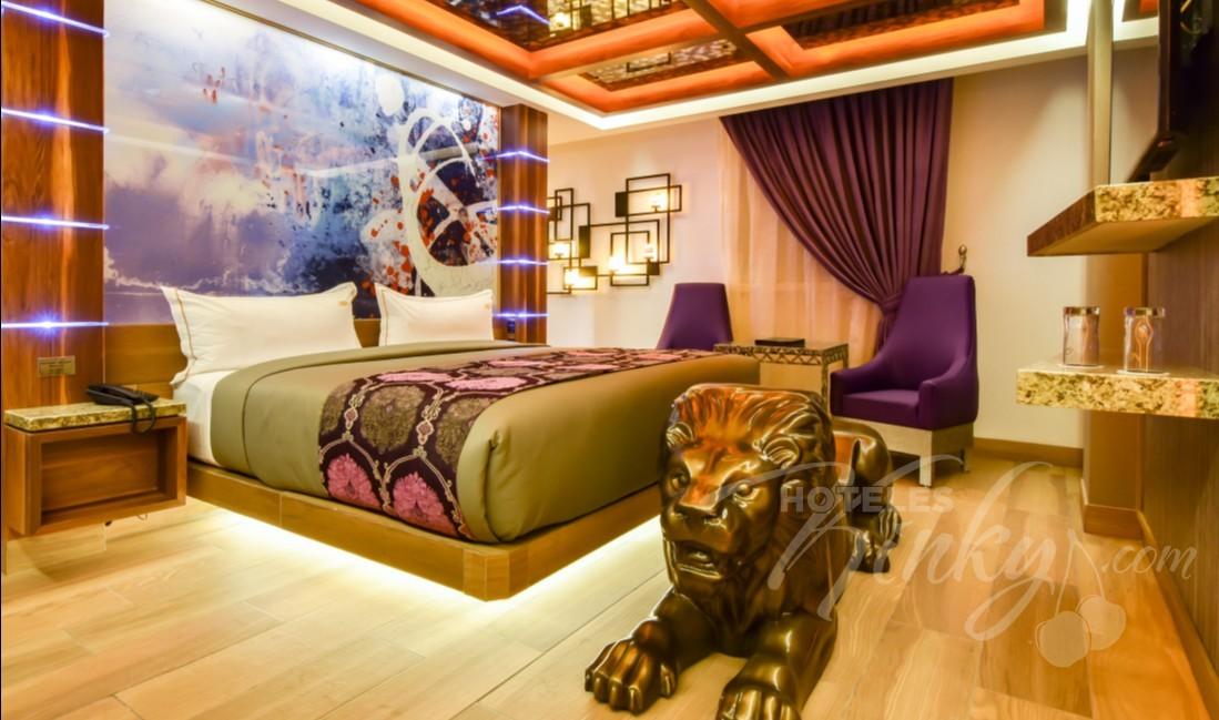 Habitaciòn Super Suite  del Love Hotel VP Vintage