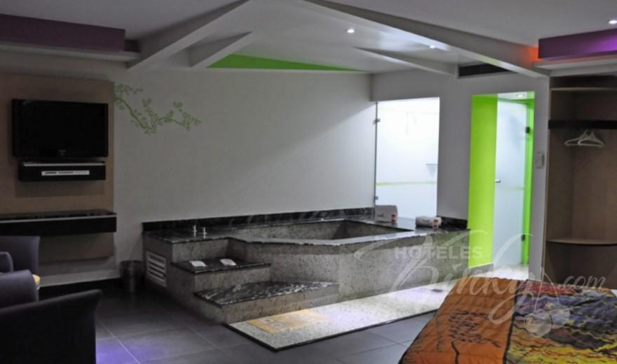 Love Hotel Xanadú Hotel & Suites, Habitacion Villa Jacuzzi