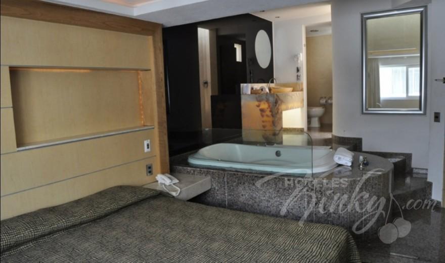 Love Hotel Xol-ha, Habitacion Jacuzzi